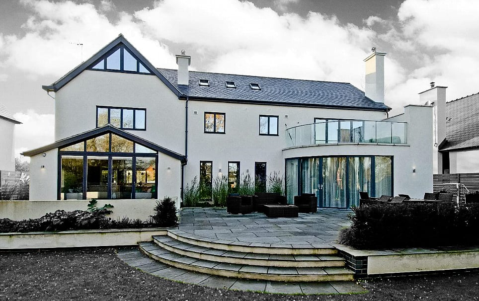 Conception architects eco home nottingham for Dream homes international